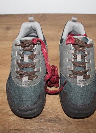 Треккинговые кожаные кроссовки merrell annex recruit vibram, 40 размер