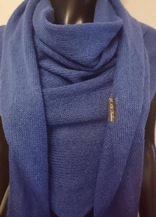Шаль шарф палантин снуд нежный мохер2