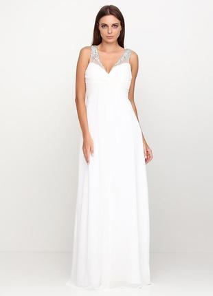 427edb42e2adf5e Роскошное платье! сеточка, расшитое декором, стеклярусом, камнями! +шаль!