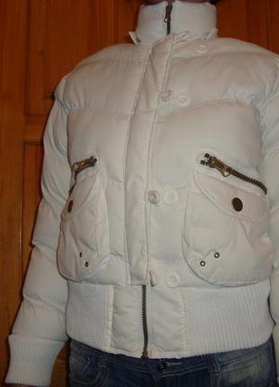 Белая куртка 44р