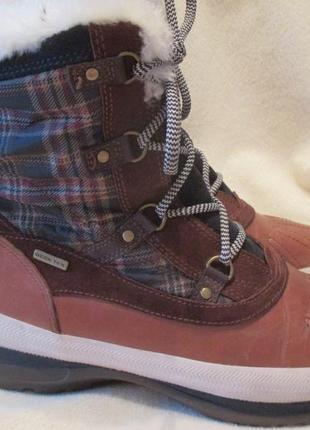 Сапоги . ботинки geox gore tex р.38-39