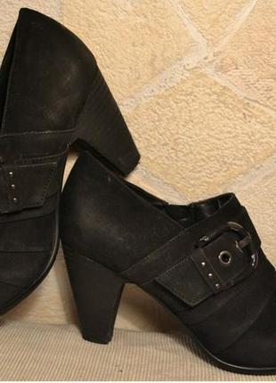 """Р.37 германия,""""5-th avenue"""",100% натуральная кожа! изысканные туфли ботинки ботильоны"""
