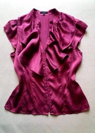 Блуза из шелка.