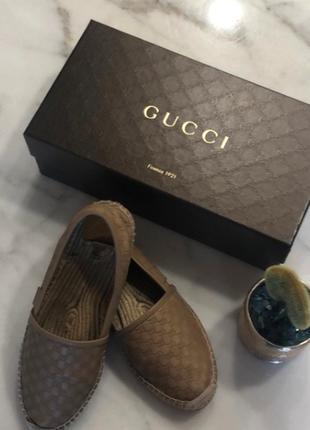 Gucci эспадрильи
