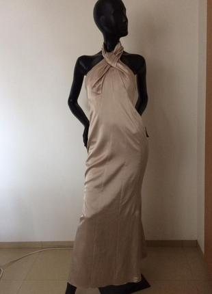 Шикарное вечернее платье в пол karen millen 12(40)
