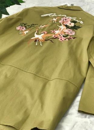 Стильный жакет с вышивкой   ov1846210  mango2 фото