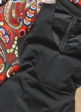 Тотальная распродажа! трендовое маленькое черное платье с чокером
