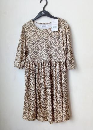 Платье леопардовое красивое