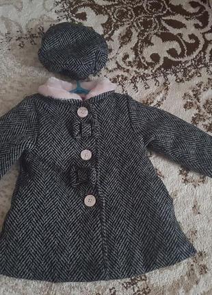 Потрясающее пальто на девочку