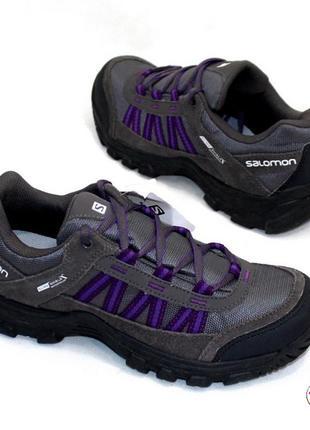 Ботинки 37 р salomon кожа оригинал