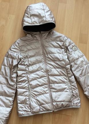 Куртка пуховик двустронний freesoul