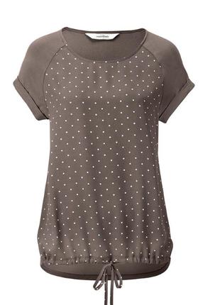 Комбинированная блузка от тсм чибо германия размер 36 евро=42-44