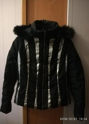 Куртка черная basic