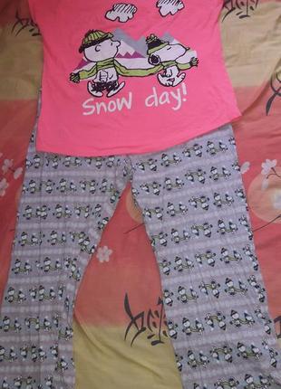 Пижама котон  44 xxl размер