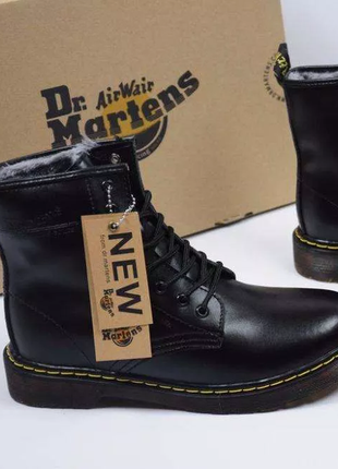 Ботинки зимние dr. martens / доктор мартинс мех! c 36 по 45