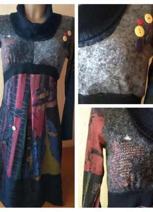 Цікава стильна сукня р.s/м, брендової колекції soggo, франція