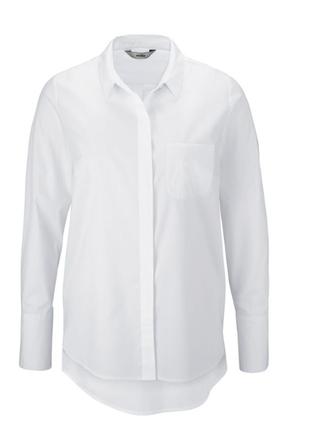 Стильная блуза-рубашка от тсм tchibo (чибо), германия, евро 46 (наш 52)