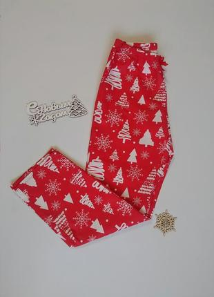 Пижамные штаны, новогодние штаны, пижама