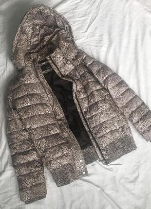 Пуховик, зимняя стёганная куртка