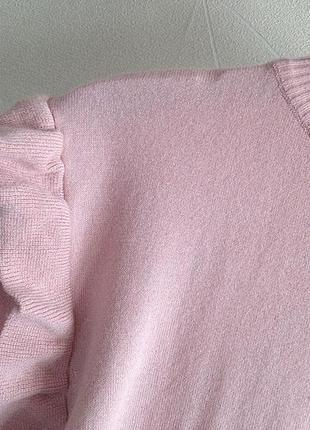 Пудровый свитер new look