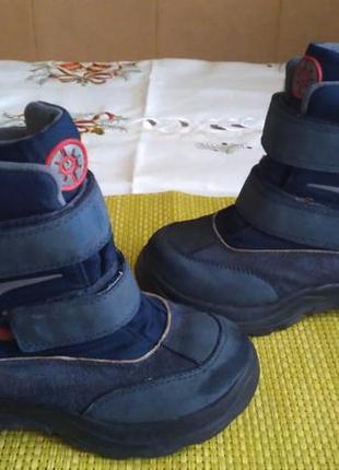 Sale! мембранні термо чоботи elefanten gore-tex, 27 розмір,18,5-19 см. ботинки сапоги