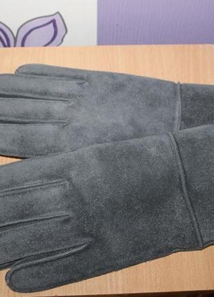 Замшевые кожаные перчатки gap разм l/g