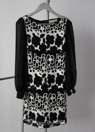 Шикарное платье в паетки cotton club