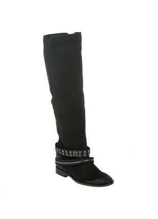 520бп женские сапоги badura,кожаные,на каблуке,на толстой подошве,на низком ходу