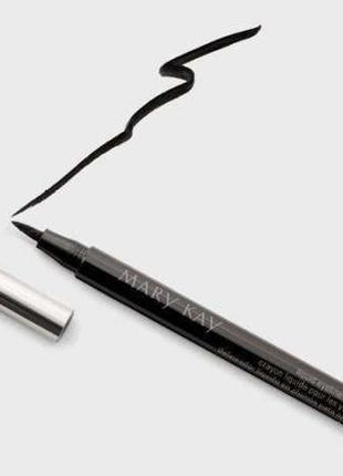 Новая . подводка карандаш для глаз . черная mary kay
