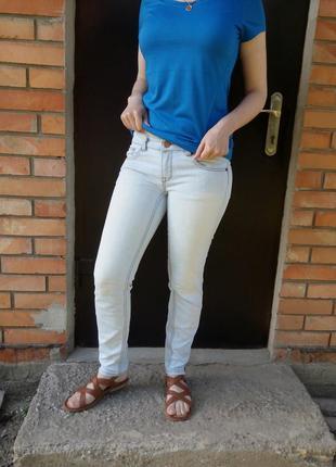 Летние джинсы скинни ann christine р. 28 - 29
