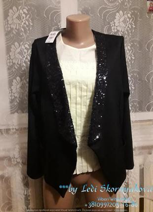 Новый пиджак с биркой, размер м-л