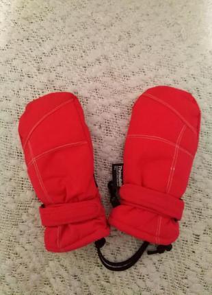 Перчатки краги 3-5 лет thinsulate