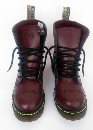Steel оригинал, ботинки, бордовые, в наличии, 37 размер