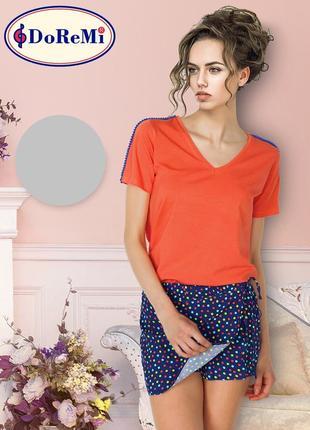 Комплект: футболка и шорты юбка шорти-спідниця s-m, m-l, l-xl, xl-xxl, xxl-3xl