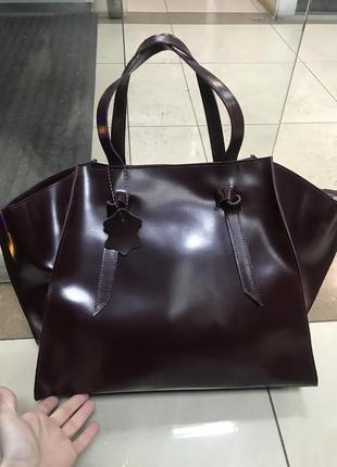 df53ae9569ed Черные кожаные сумки, женские 2019 - купить недорого вещи в интернет ...