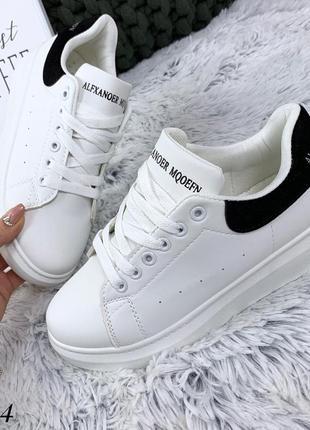 Стильные белые кроссовки. размеры с 36 по 41
