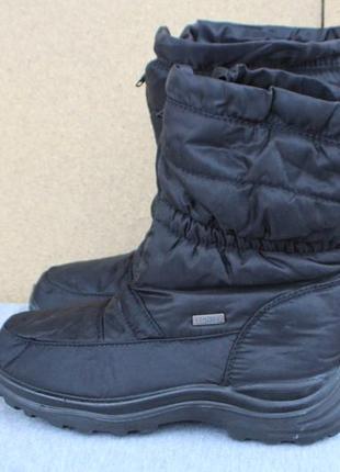Зимние ботинки crane германия 38 и 39 р дутики не промокающие