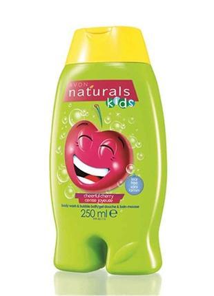 Дитячий гель для душупіна для ванни «вишнева радість» (250 мл)