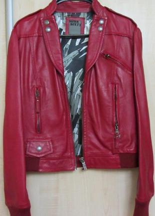 Кожаная курточка miss sixty