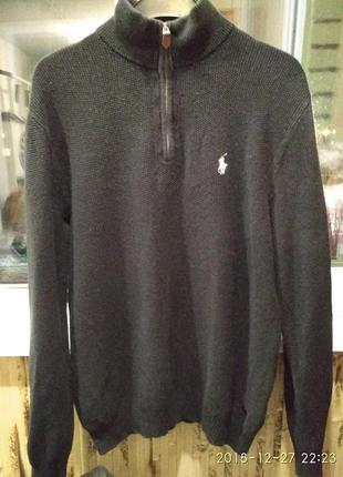 Кашемировый мужской свитер ralph lauren