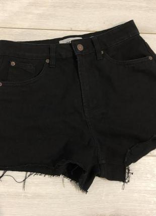 Чёрные шорты new look mon