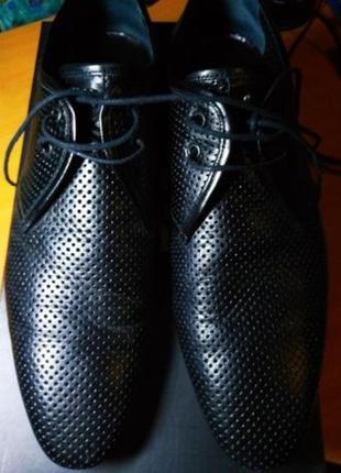 Черные туфли fellini размер 40