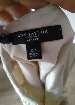 Юбка юбочка кружевная кружево спідниця карандаш ann taylor5