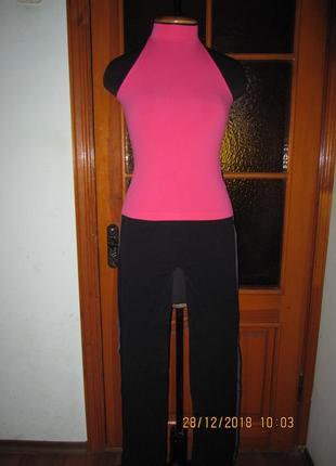 Костюм для фитнеса брюки + майка, италия