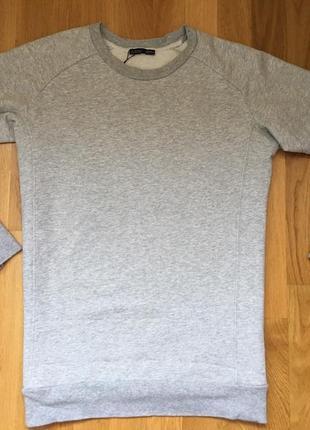 Свитшот zara кофта свитер джемпер худи туника парка1
