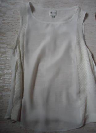 Шелковая майка блуза reiss