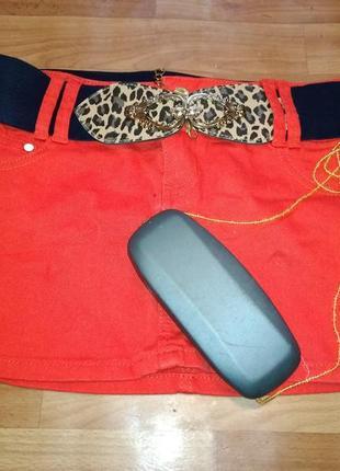 Морковная юбка