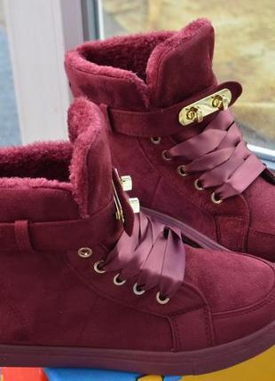 Зимние ботинки гермес р-р 36,40