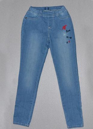 Модные детские джинсы на резинке от tcm tchibo
