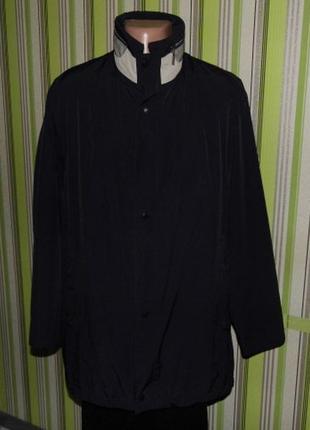 Классическая брендовая  куртка - ветровка - pierre cardin eu 52 -оригинал!!!